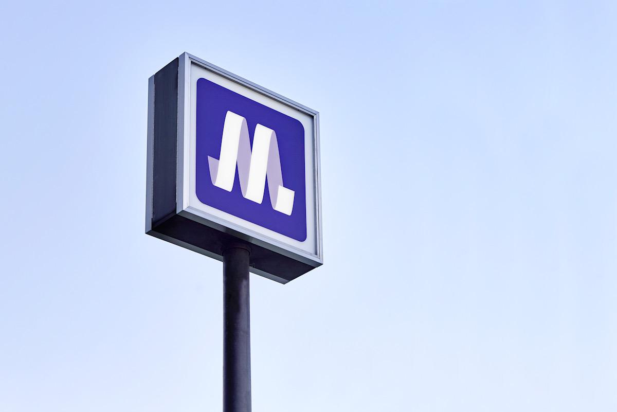 「Osaka Metro」ロゴデザイン