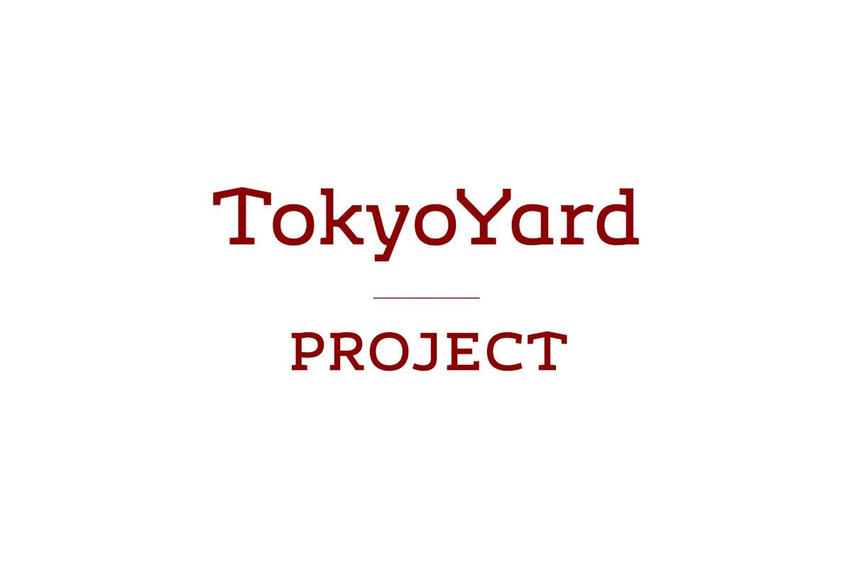 「TokyoYard Project」のロゴデザイン
