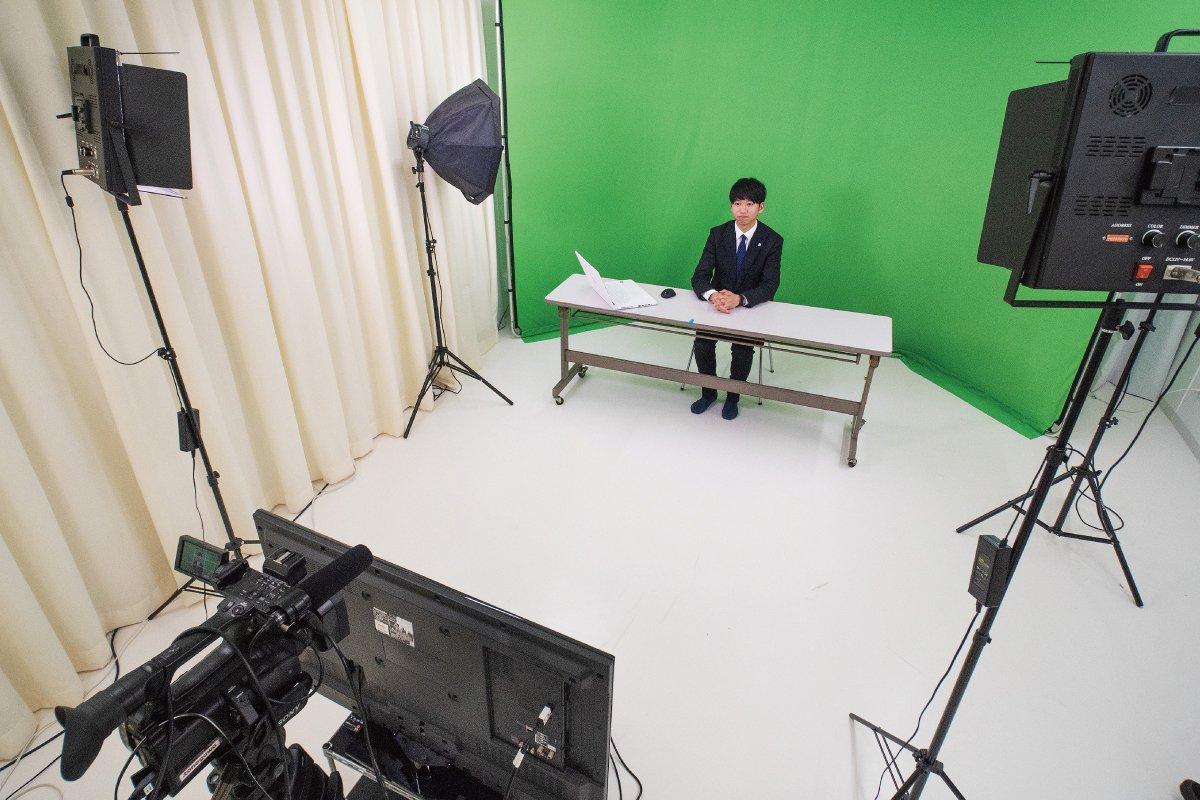 クロマキー動画スタジオ